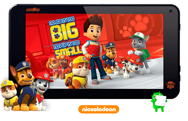 Gaming Tablet Paw Patrol